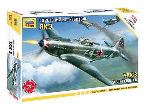 Советский истребитель Як-3 - Звезда 7301 1:72