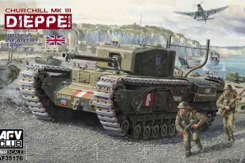 (предзаказ) Черчилль Мк.3 Churchill Mk.III Dieppe  - AFV Club 1:35 AF35176