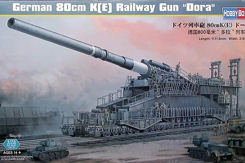 "(под заказ) 82911 Hobby Boss 1/72 German 80cm K(E) Railway Gun ""Dora"""