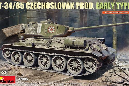 Танк Т-34-85 Чехословакии, ранний вариант - Miniart 37085 1/35