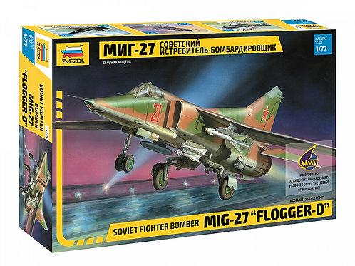 7228 Звезда 1/72 МиГ-27 Советский истребитель-бомбардировщик