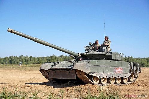 Российский танк Т-80БВМ - Trumpeter 1:35 09587