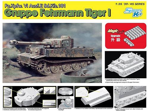 (предзаказ) Sd.Kfz.181 Tiger I Gruppe Fehrman - Dragon 6484 1/35