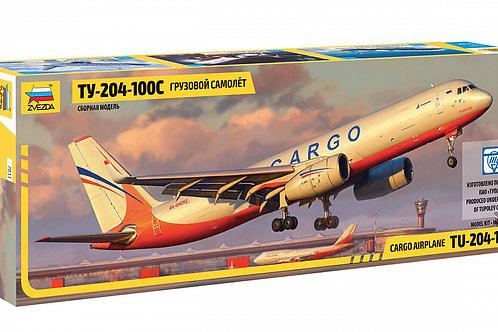 7031 Звезда 1/144 Российский грузовой самолет Ту-204-100С