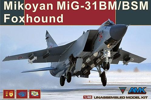 Самолет МиГ-31 БМ/БСМ - AMK 1:48 88003 - под заказ