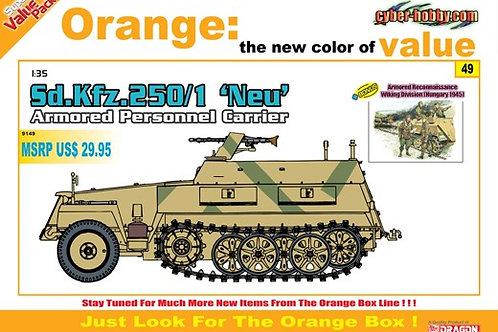 Немецкий БТР Sd.Kfz.250/1 'NEU' + фигурки - Dragon /Cyber Hobby 9149 1/35