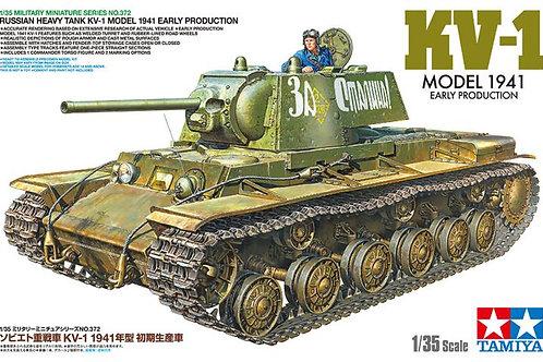 Советский танк КВ-1 раннего выпуска, 1941 год - Tamiya 1:35 35372