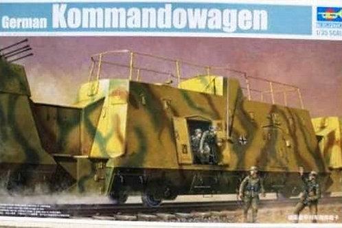 Немецкий штабной броневагон German Kommandowagen - Trumpeter 01510 1:35