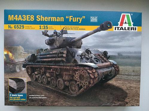 "Шерман ""Ярость"" M4A3E8 Sherman Fury - Italeri 6529 1:35"