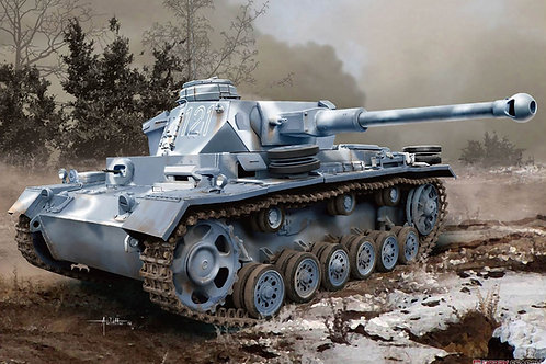 Немецкий танк Pz. III Ausf. K - Dragon 6903 1:35 (DS)