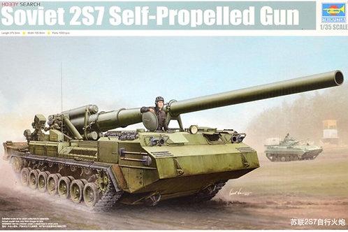 """Советская 203-мм САУ 2С7 """"Пион"""" - Trumpeter 05593 1/35"""