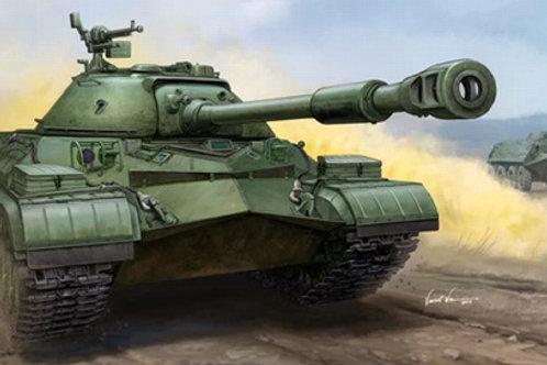 Советский танк Т-10А - Trumpeter 05547 1:35