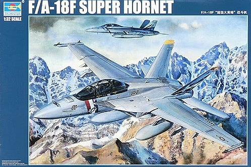 (под заказ) Самолет Boeing F/A-18F Super Hornet - Trumpeter 1:32 03205