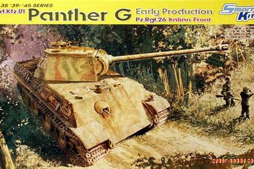 (под заказ) Panther G Early Production Pz.Rgt.26 Italy - Dragon 6267 1:35