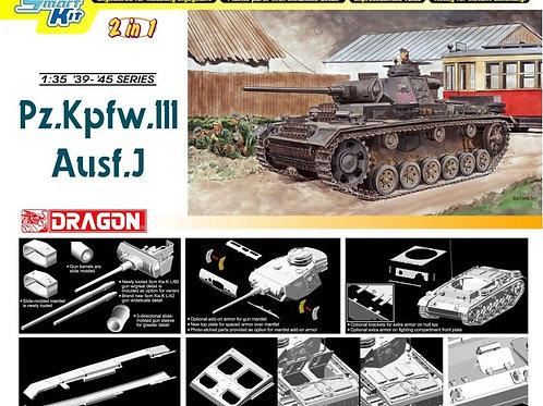 Pz.Kpfw. III Ausf. J (2 in 1) - Dragon 1:35 6394 - под заказ