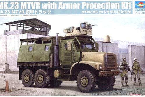 (под заказ) Американский грузовик US MK23 MTVR MAS Truck - Trumpeter 1:35 01080