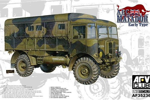 Британский грузовик AEC Matador Early Type ранний выпуск - AFV Club 1:35 AF35236