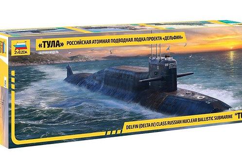 """Звезда 9062 1/144 Российская АПЛ """"Тула"""" проекта """"Дельфин"""""""