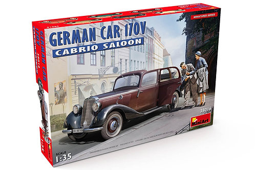 38016 MiniArt 1/35 GERMAN CAR 170V CABRIO SALOON