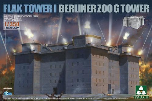 (предзаказ) Flak Tower I Berliner Zoo G Tower - Takom 1:350 6004