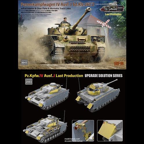 Pz.IV Ausf.J с интерьером + травление - RFM 1:35 RM-5043+2003 КОМБО