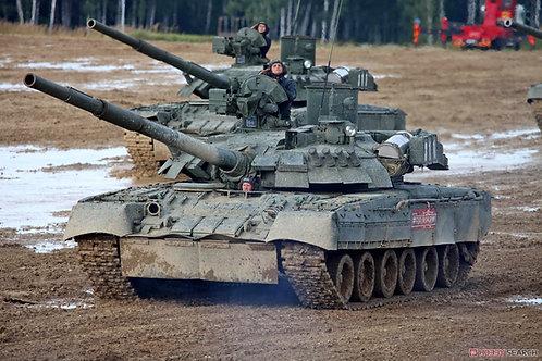 Российски танк Т-80УЕ-1 - Trumpeter 1:35 09579
