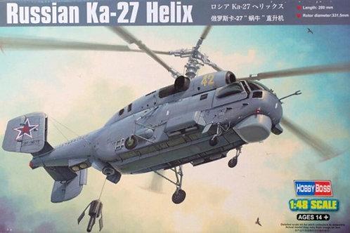 Вертолет Камов Ка-27, Russian Ka-27 Helix - Hobby Boss 1:48 81739