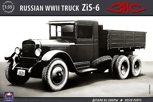 Советский грузовой автомобиль ЗиС-6 - ARK models 35036 1/35