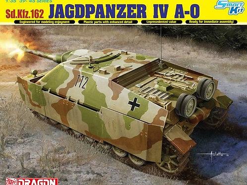 Немецкий истребитель танков Jagdpanzer IV A-0 - Dragon 6843 1:35 (DS траки)