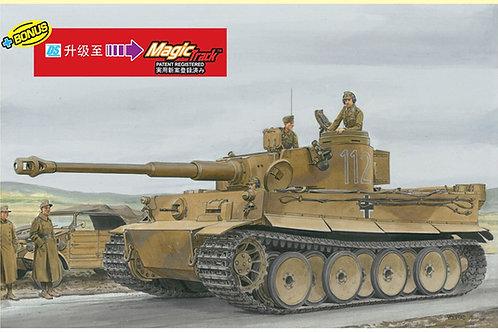 Тигр предсерийный Тунис 1942-1943, Magic траки - Dragon 1:35 6608 - под заказ