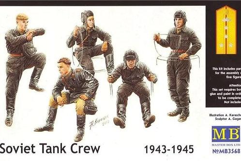 MB3568 3568 MasterBox 1/35 Советский танковый экипаж, 1943-1945 гг