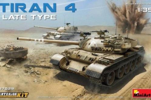 Израильский танк Тиран 4 поздняя серия, с интерьером - MiniArt 37029 1/3
