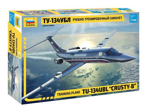 Российский самолет Ту-134 УБЛ - Звезда 7036 1/144