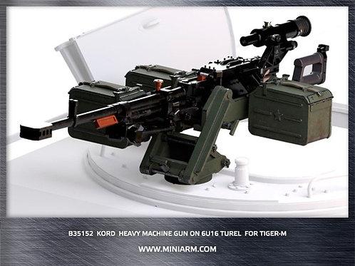 """35152 Пулемет """"Корд"""" на установке 6У16 для ГАЗ Тигр-М - MiniArm B35152 1:35"""