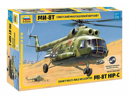 Звезда 7230 1/72 Советский многоцелевой вертолет Ми-8Т