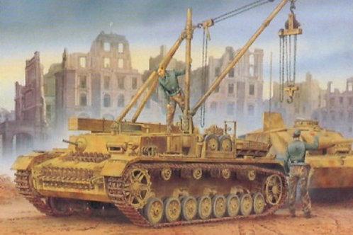 Немецкая БРЭМ Бергепанцер Bergepanzerwagen IV - Dragon 6438 1:35