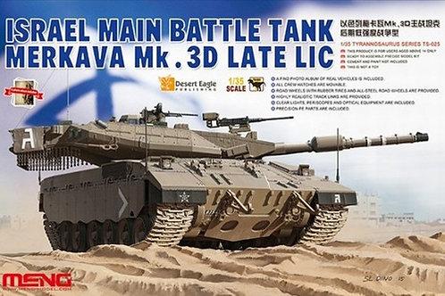Израильский ОБТ Меркава Мк.3Д поздний LIC - Meng Model TS-025 1/35