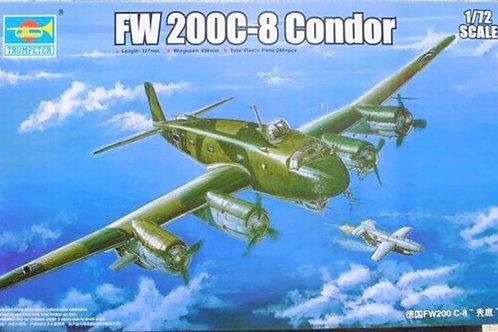 Немецкий самолет Focke-Wulf Fw 200 C-8 Condor - Trumpeter 1:72 01639
