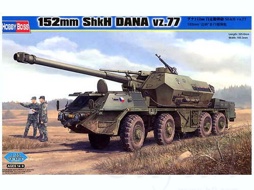 152mm ShkH DANA vz.77 - Hobby Boss 1:35 85501