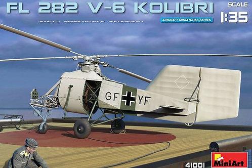 """Вертолет FL 282 V-6 """"Kolibri"""" сборная модель - MiniArt 41001 1/35"""