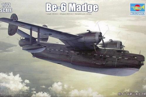 Советский самолет Бе-6 Бериев (Be-6 Madge) - Trumpeter 1:72 01646
