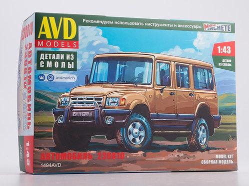 AVD Models 1494AVD 1:43 Автомобиль 230810 Атаман (Горьковский автозавод)