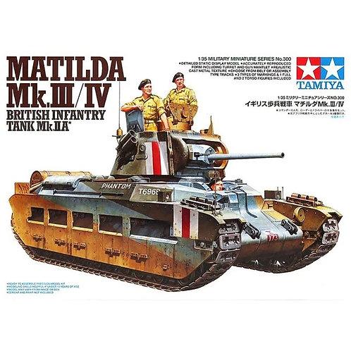 Танк Матильда Matilda Mk.III/IV - Tamiya 1:35 35300