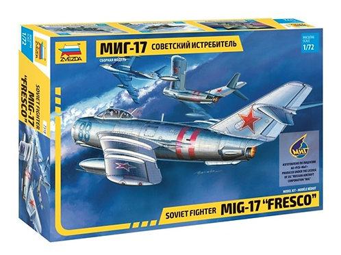 Советский истребитель МиГ-17 - Звезда 7318 1/72