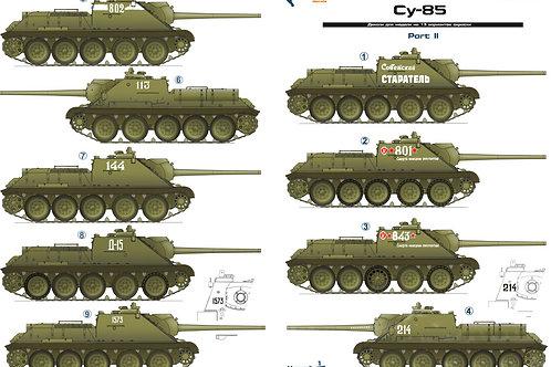 35043 Colibri Decals 1/35 Декали СУ-85, часть 2