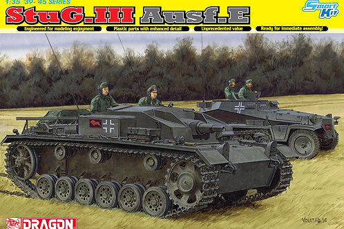 StuG III Ausf. E, с интерьером - Dragon 6688 1:35 (DS траки)
