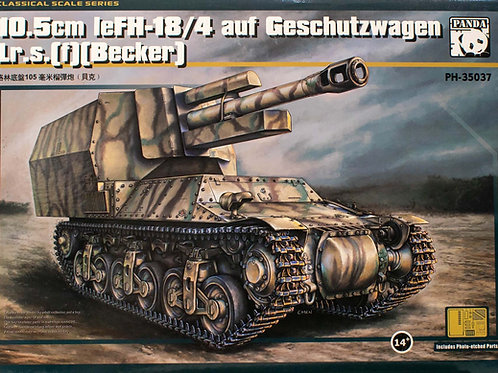 (под заказ) 10,5 cm LeFH-18/4 auf GW Lr.s.(f) (Becker) - Panda 1:35 PH35037
