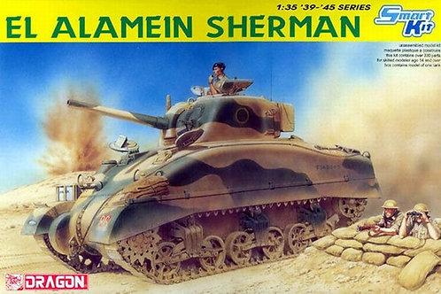 Шерман, битва за Эль-Аламейн, El Alamein Sherman - Dragon 6447 1/35