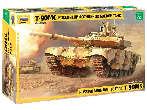 Звезда 3675 1/35 Российский основной боевой танк Т-90МС