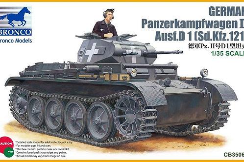 Немецкий танк Pz.Kpfw.II Ausf. D1 (Sd.Kfz.121) - Bronco CB35061 1:35